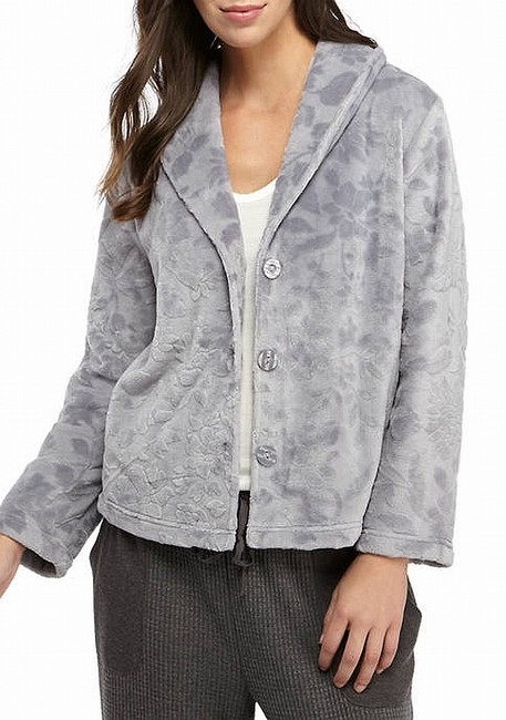 Item - Women's Gray Size Small S Cardigan Embossed Sweater/Pullover