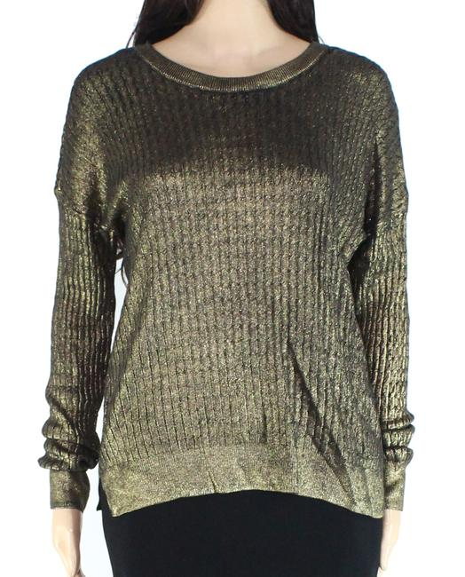 Item - Women's Black Gold Size Medium Knit Sweater/Pullover