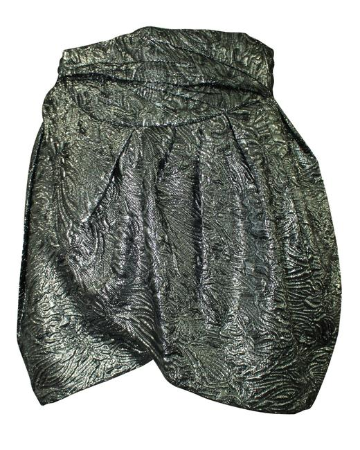Item - Silver Jacquard Tulip -pre Owned Condition Very Skirt