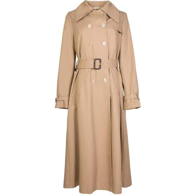 Item - Double-breasted Belted Trench It 42 Coat