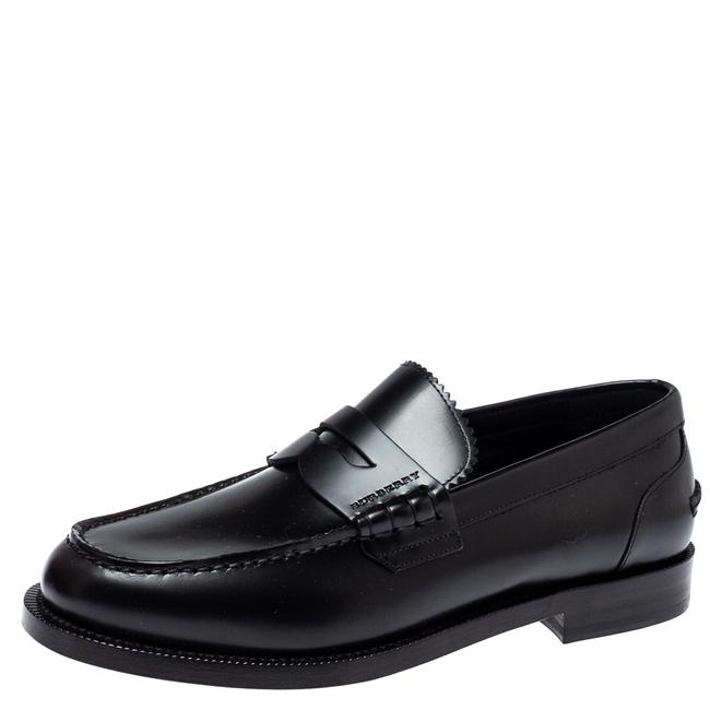 Item - Black Leather Bedmont Penny Size 39.5 Loafers