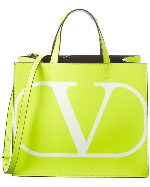 Item - Vlogo Small Leather B0g70 Bxt 24z Tote