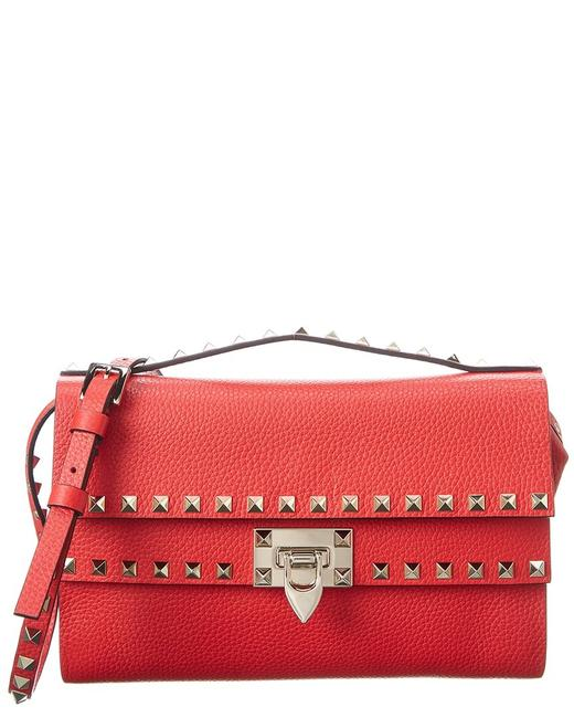 Item - Rockstud Grainy Leather Uw2b0g40 Vsf Ju5 Cross Body Bag