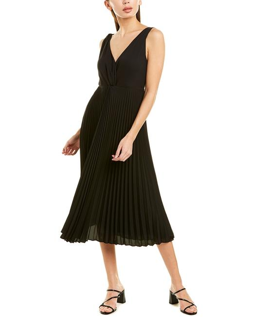 Vince Twist Pleated Front Midi V571850941 Casual Maxi Dress 14111508300003 Image 1