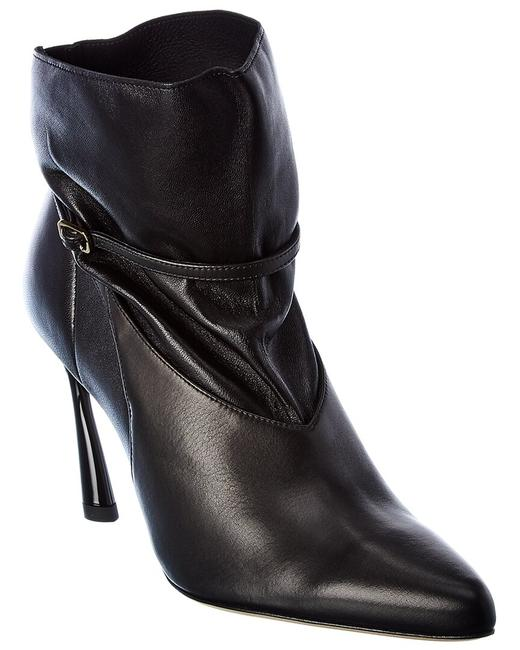 Item - Leather Cacia 85 Zzq Black Black Boots/Booties