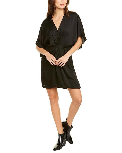 Item - Satin Knotted Zoey04 Short Casual Dress