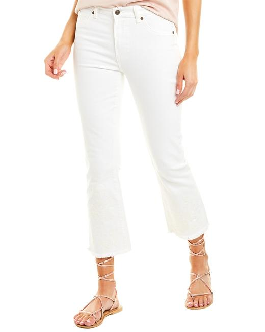 Johnny Was White Cropped Baby Bootcut Jwd1025 Pants 14119803070000 Image 1