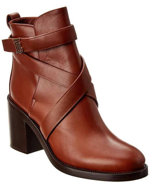 Burberry Pryle Monogram Motif Leather 8019268 Boots/Booties Burberry Pryle Monogram Motif Leather 8019268 Boots/Booties Image 1