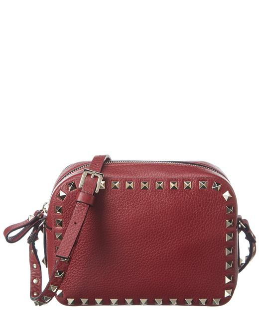 Item - Camera Rockstud Leather B0809 Vsf C52 Cross Body Bag
