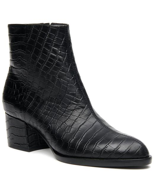 Item - Gwyneth Croc-embossed Leather 165191022 Boots/Booties