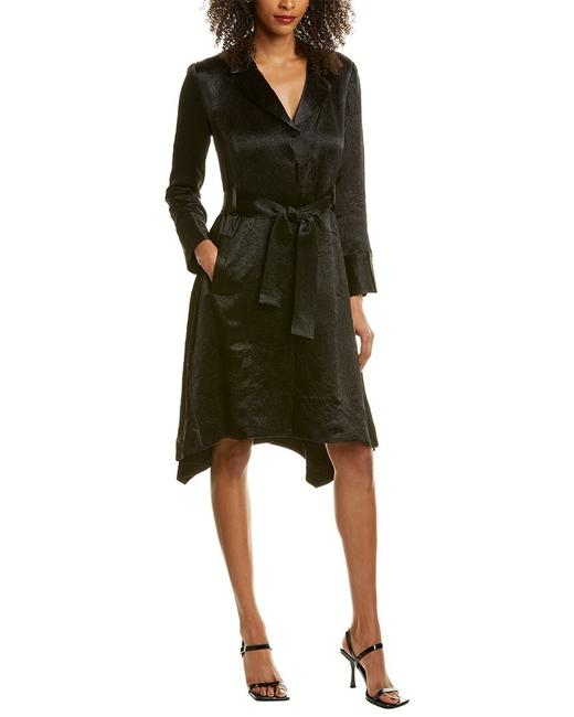 Item - Heritage Crushed Satin Trench Cms053055 Short Casual Dress