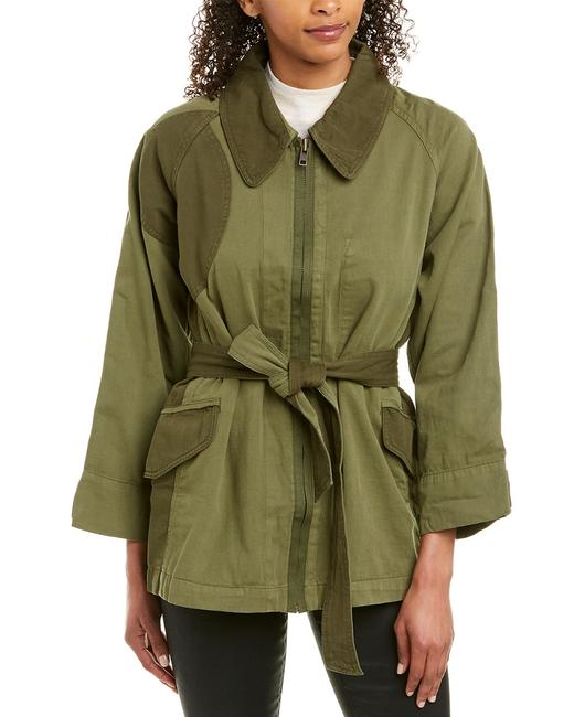 Item - The Military Linen-blend Jacket 19-2-004613-ow00993 Relaxed Fit Jeans