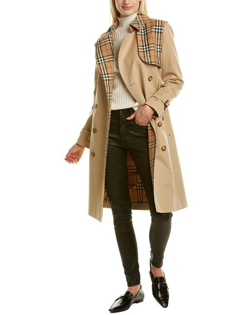 Burberry Vintage Check Trench 8034309 Coat Burberry Vintage Check Trench 8034309 Coat Image 1