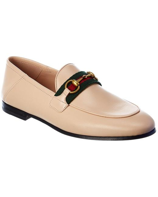 Gucci Horsebit Web Leather 631619 Cqxm0 6761 Loafers Gucci Horsebit Web Leather 631619 Cqxm0 6761 Loafers Image 1