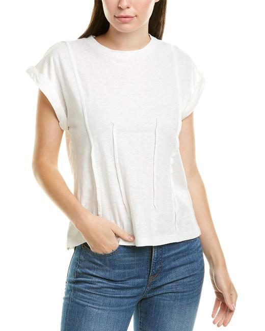 Grey State Corrine Linen-blend Top 851911177 Blouse 14112463310003 Image 1