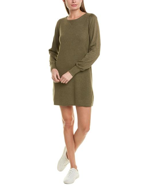 Item - Puff Sleeve Sweaterdress Pa1228 Sweater/Pullover