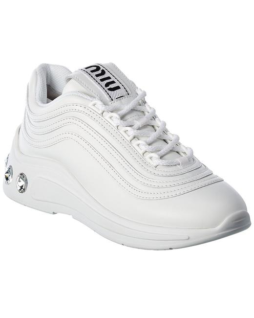 Item - Leather Sneaker 5e841c 3l4a F0009 Athletic