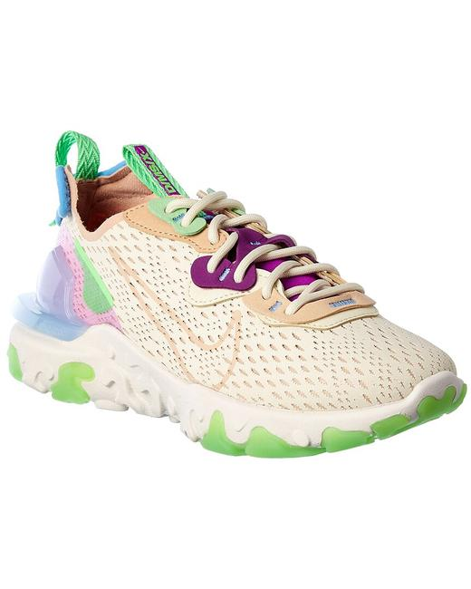 Item - React Vision Leather-trim Sneaker Ci7523-200 Athletic