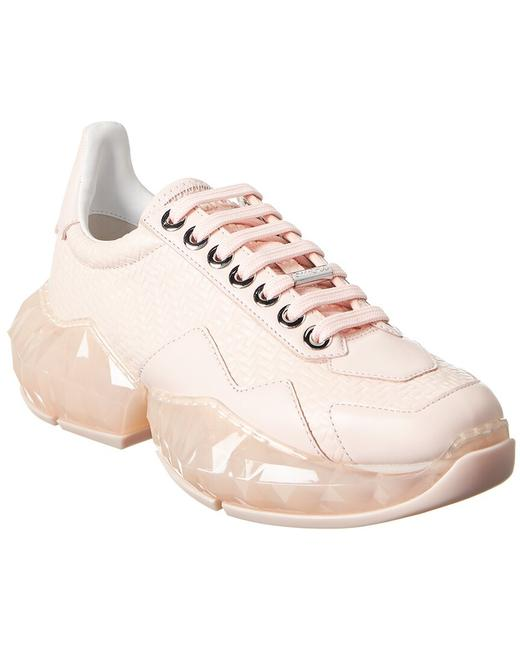 Item - Leather Sneaker Diamondf Dvd Pink Athletic