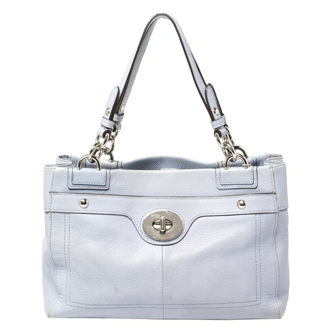 Item - Lilac Leather Penelope Tote