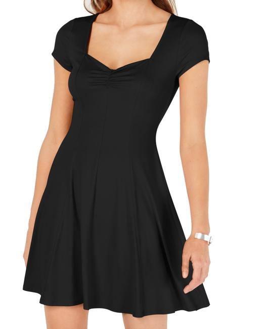 Item - Classic Black Size Small S Junior A-line Cinched Front Cocktail Dress