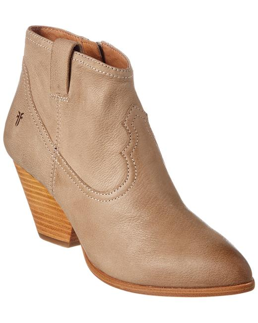 Item - Reina Leather 3479258-ash Boots/Booties