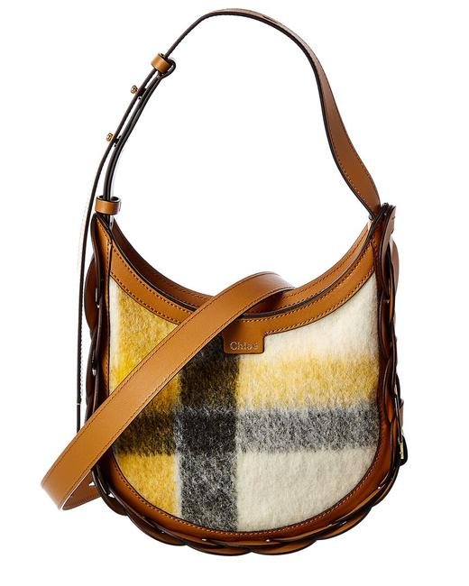 Chloé Darryl Small Leather Chc20as342 D17 211 Hobo Bag Chloé Darryl Small Leather Chc20as342 D17 211 Hobo Bag Image 1