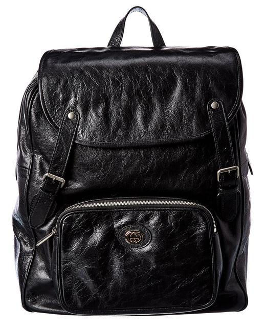 Gucci Leather 575823 1gzbx Backpack Gucci Leather 575823 1gzbx Backpack Image 1