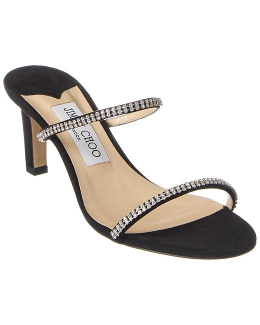 Item - Suede Brea 65 Dcc Black Crystal Sandals