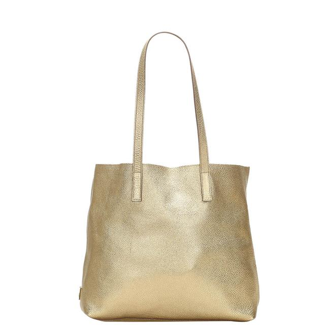 Item - Bag Gold Leather Tote