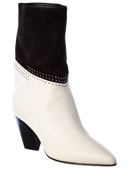 Jimmy Choo Leather Bear 65 Wmf Latte Black Boots/Booties Jimmy Choo Leather Bear 65 Wmf Latte Black Boots/Booties Image 1