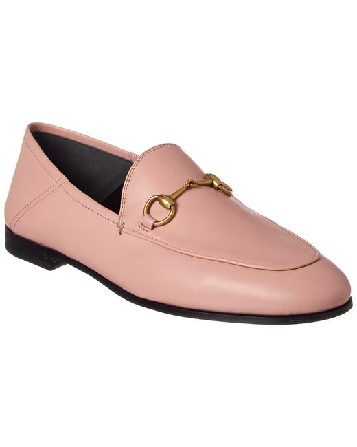 Gucci Brixton Leather 414998 Dlc00 5909 Loafers Gucci Brixton Leather 414998 Dlc00 5909 Loafers Image 1