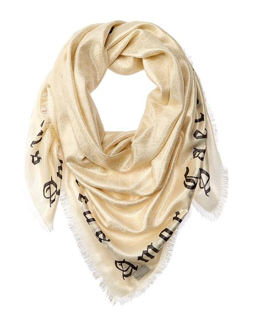 Item - Blind For Love Wool-blend 577842 3gd14 9200 Scarf/Wrap