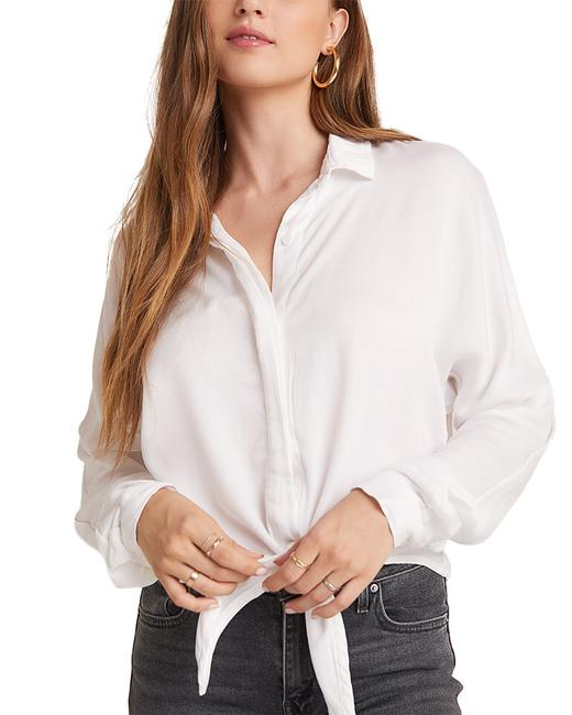 Item - Dolman Sleeve Tie Front Top B4327-a91-302 Blouse