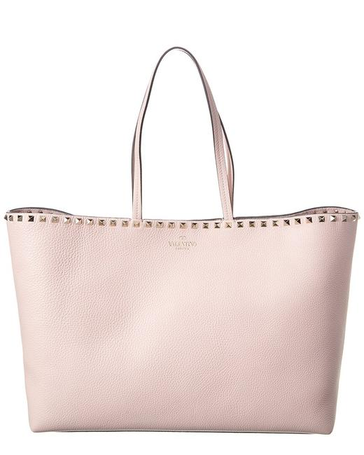Valentino Rockstud Large Grainy Leather Shopper Uw2b0b70 Vsf 16q Tote Valentino Rockstud Large Grainy Leather Shopper Uw2b0b70 Vsf 16q Tote Image 1