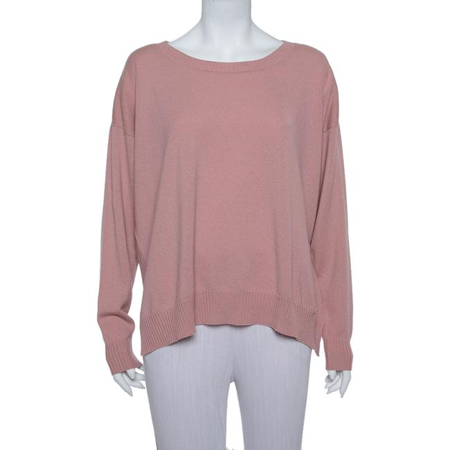 Gucci L Pink Cashmere Round Neck Sweater/Pullover Gucci L Pink Cashmere Round Neck Sweater/Pullover Image 1