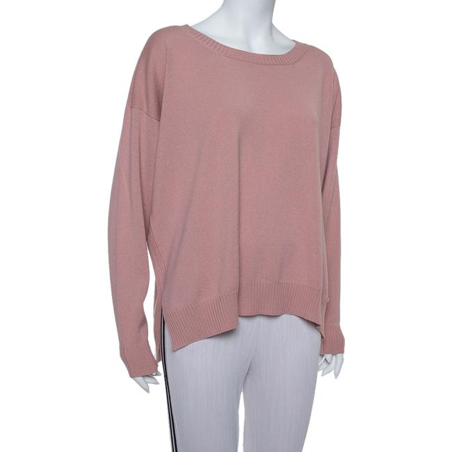 Gucci L Pink Cashmere Round Neck Sweater/Pullover Gucci L Pink Cashmere Round Neck Sweater/Pullover Image 2