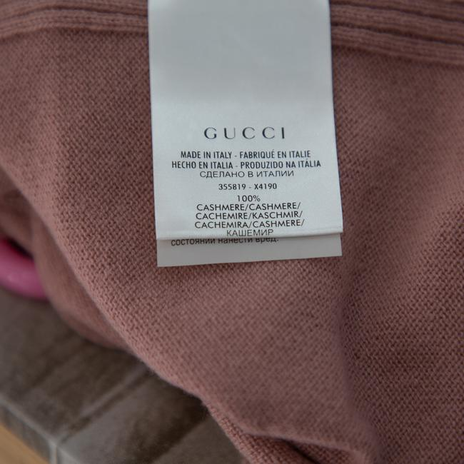 Gucci L Pink Cashmere Round Neck Sweater/Pullover Gucci L Pink Cashmere Round Neck Sweater/Pullover Image 6