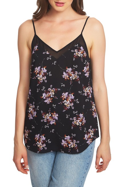Item - Floral Spaghetti Strap Camisole Blouse