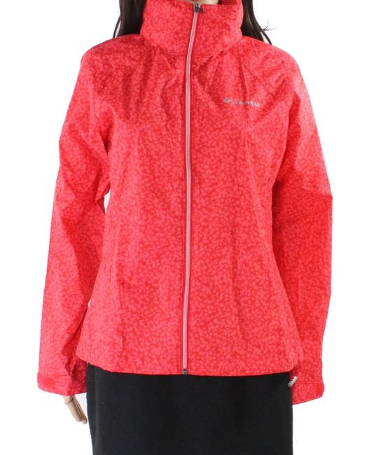 Item - Women's Red Size Small S Switchback Tree Printed Jacket