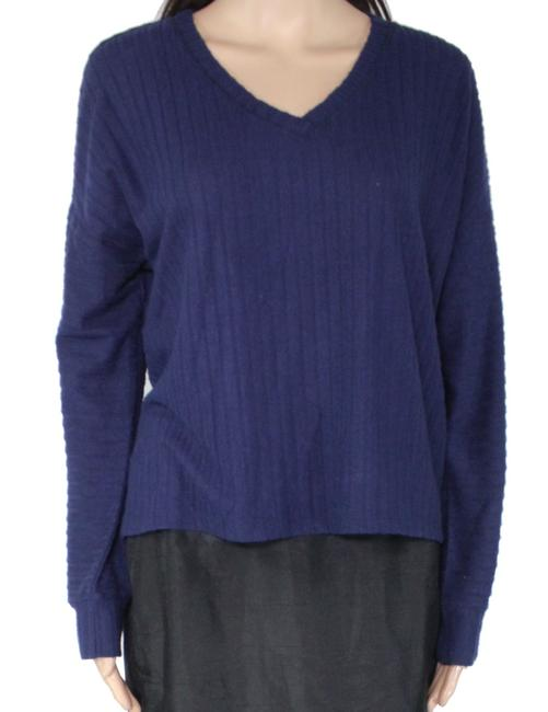 Item - L Women's Midnight Blue Size Large V-neck Sweater/Pullover
