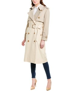 Burberry Two-tone Reconstructed Trench 8022636 Coat