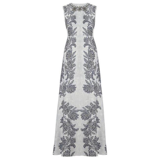 Item - Sleeveless Printed Gown Us 8 Casual Maxi Dress