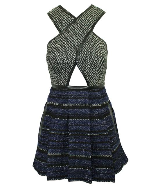 Item - Black and Dark Blue with Cutouts -pre Owned Formal Dress
