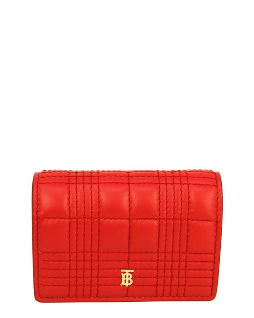 Item - Quilted Lambskin Leather Card Case 8023344 Accessory