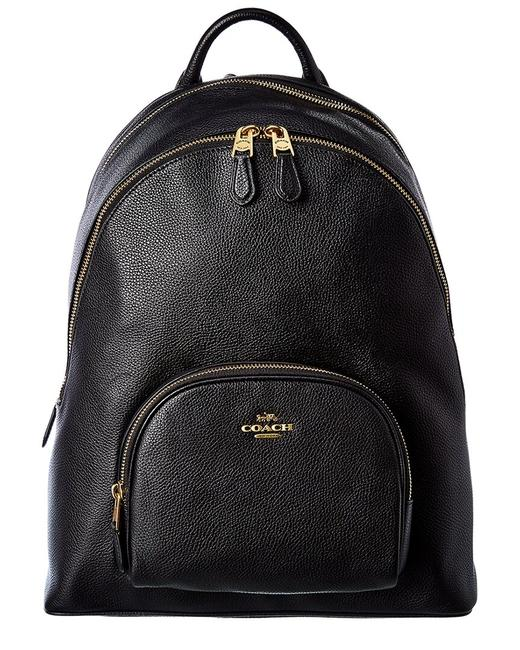 Item - Carrie Leather 93836-b4/Bk Backpack