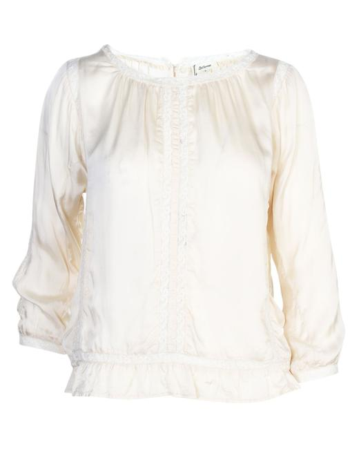 Item - Cream -pre Owned Condition Very Good Universal1 Blouse