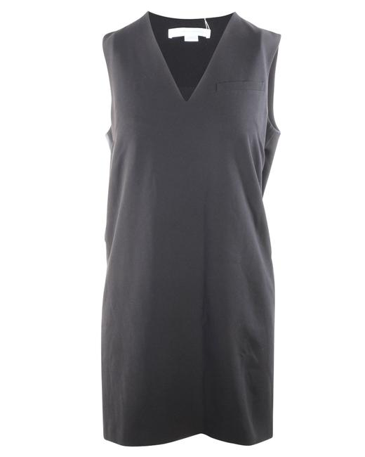 Item - Black with Tuxedo Details -pre Owned Condition Cocktail Dress