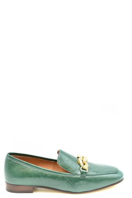 Item - Green Women's Moccassin Mules/Slides