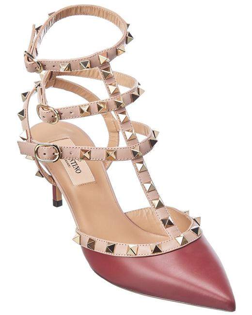 Item - Rockstud Caged 65 Leather Ankle Strap Uw0s0375 Vod Fa5 Pumps